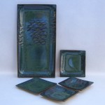 Clay plate set
